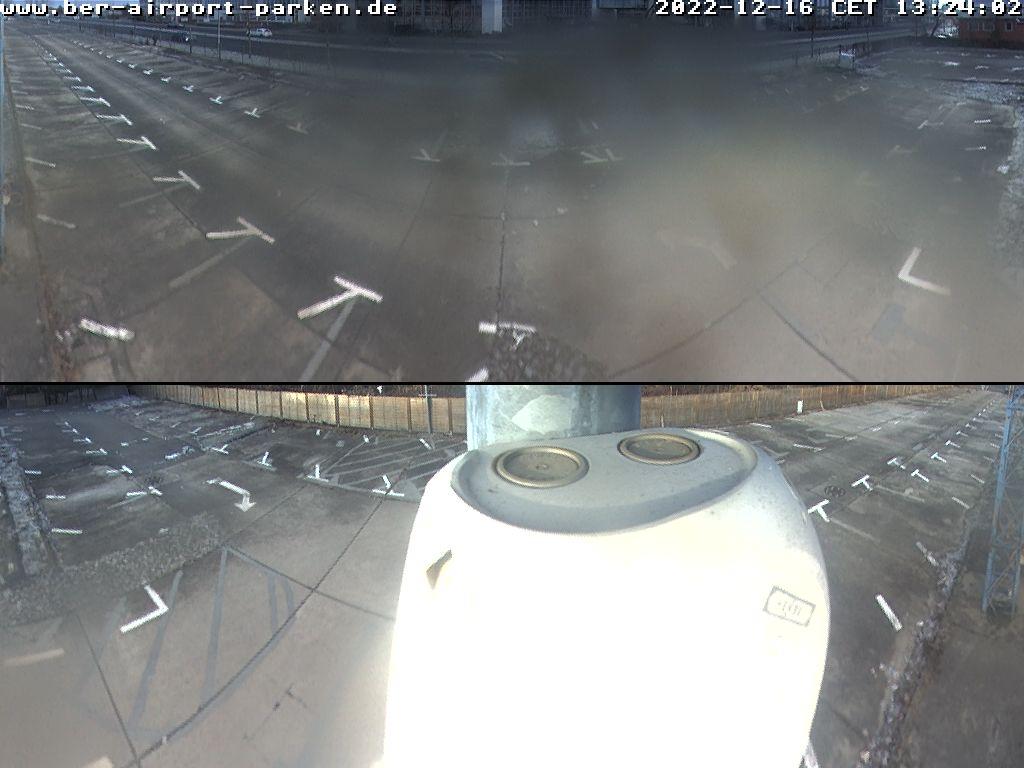 WebCam 3 - Parkplatz am Flughafen Schönefeld