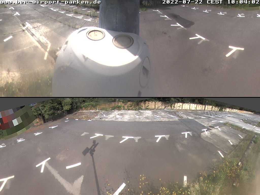 Web Cam 4 - Parkplatz am Flughafen Schönefeld